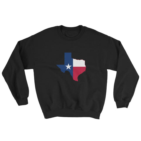Image of Texas Sweatshirt - Black / S