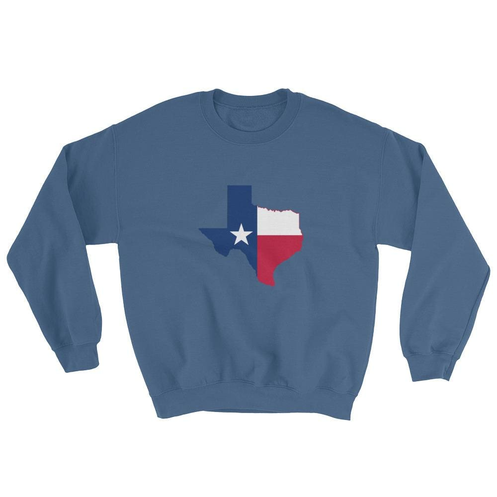 Texas Sweatshirt - Indigo Blue / S