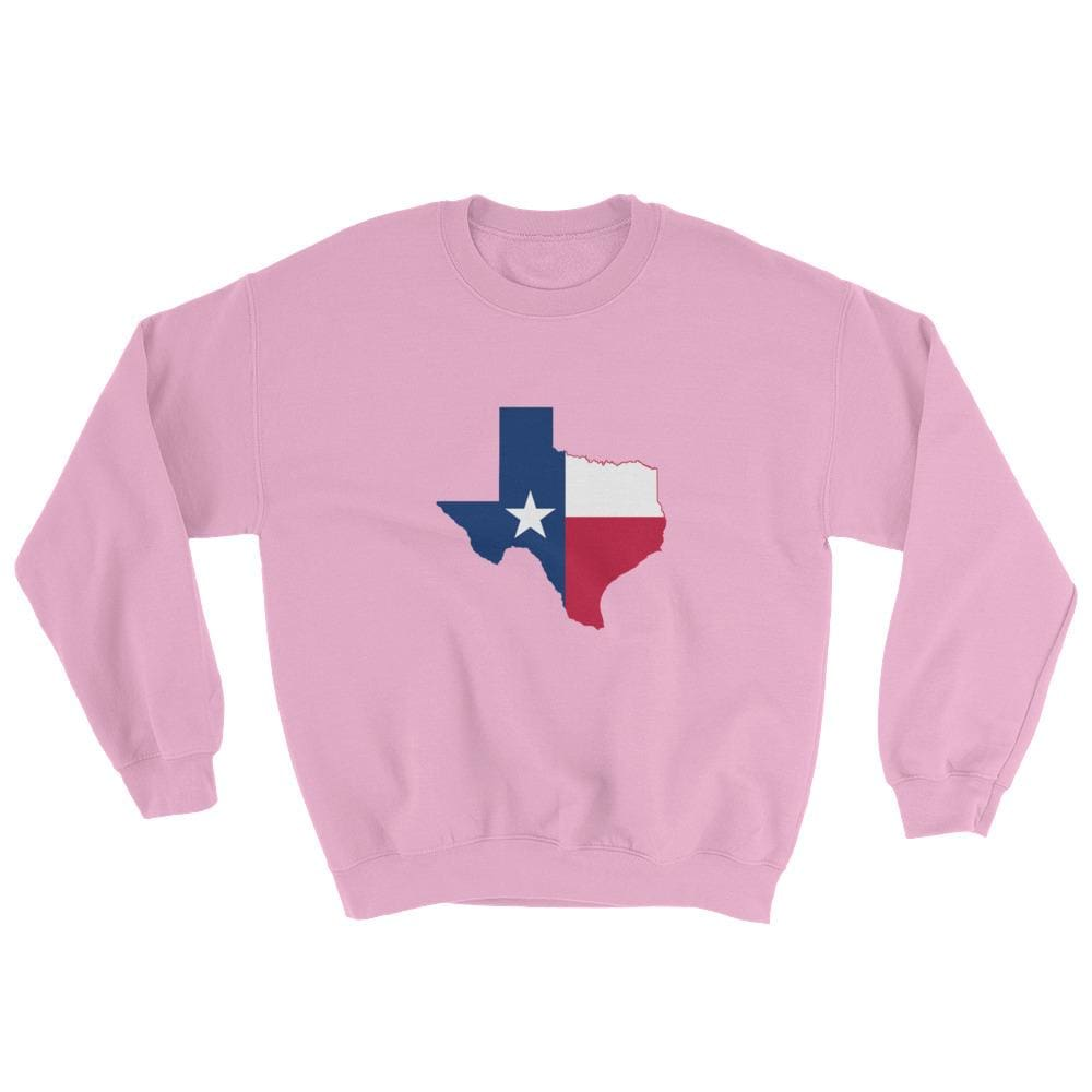 Texas Sweatshirt - Light Pink / S