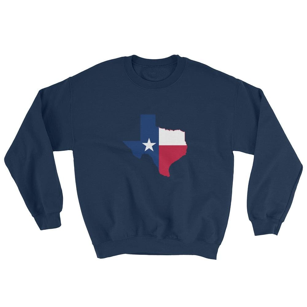 Texas Sweatshirt - Navy / S
