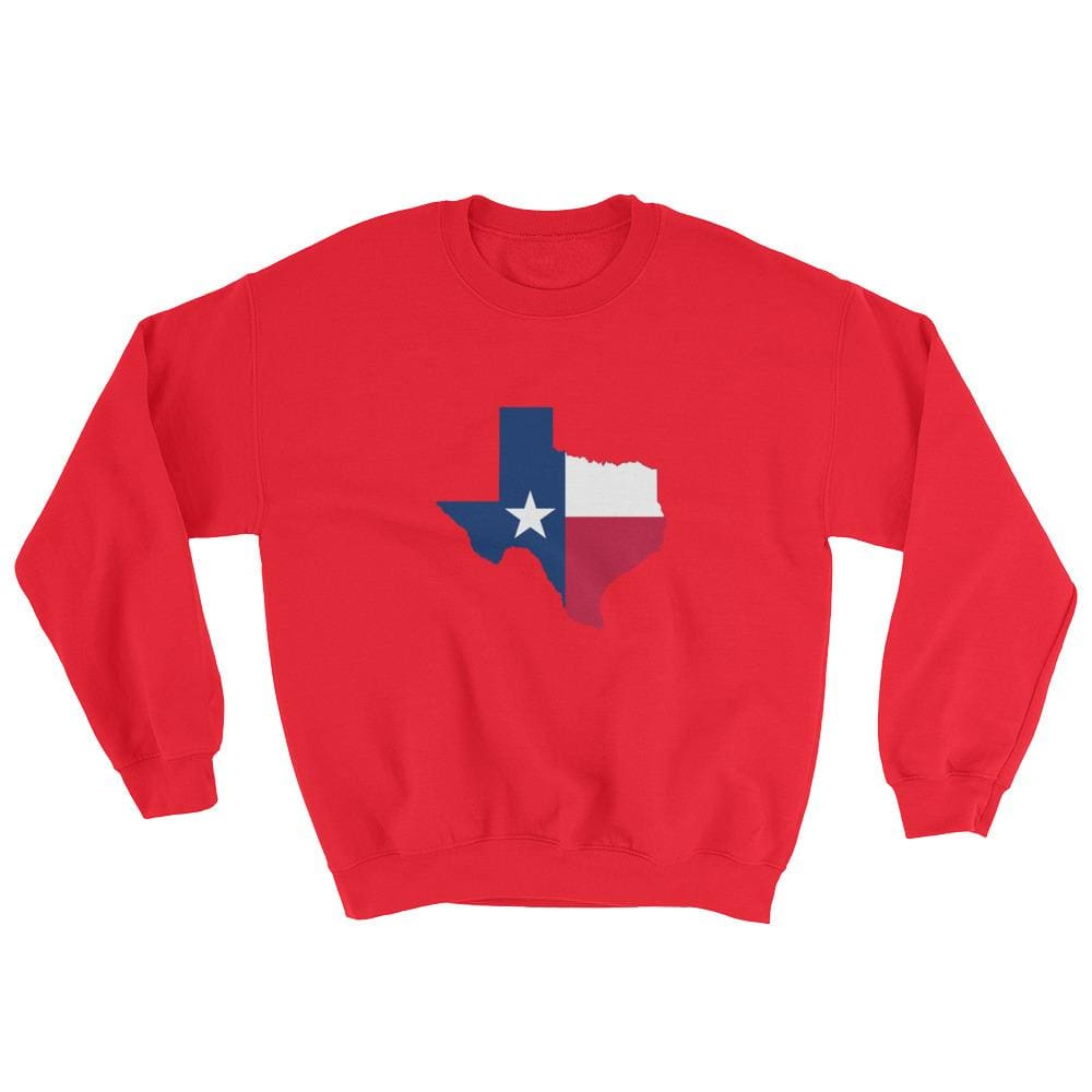Texas Sweatshirt - Red / S