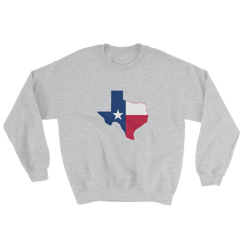 Image of Texas Sweatshirt - Sport Grey / S