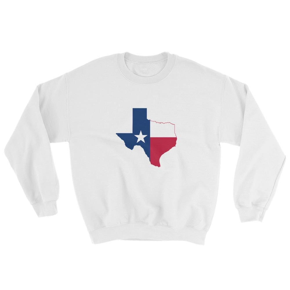 Texas Sweatshirt - White / S