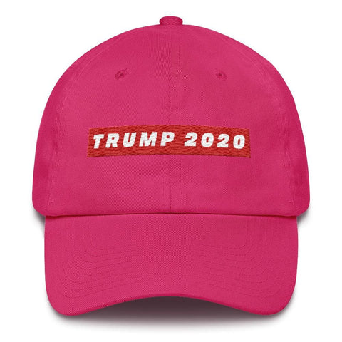 TRUMP 2020 *MADE IN THE USA* Hat - Bright Pink