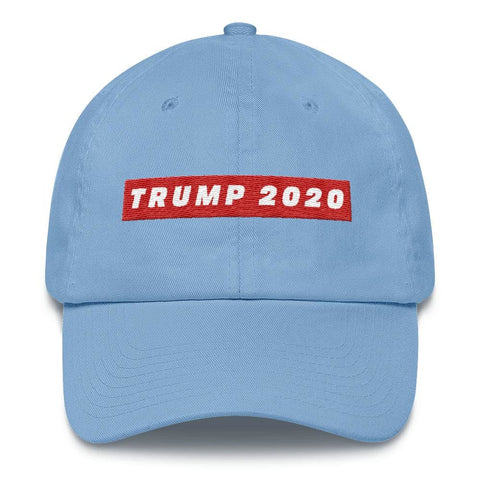 Image of TRUMP 2020 *MADE IN THE USA* Hat - Carolina Blue