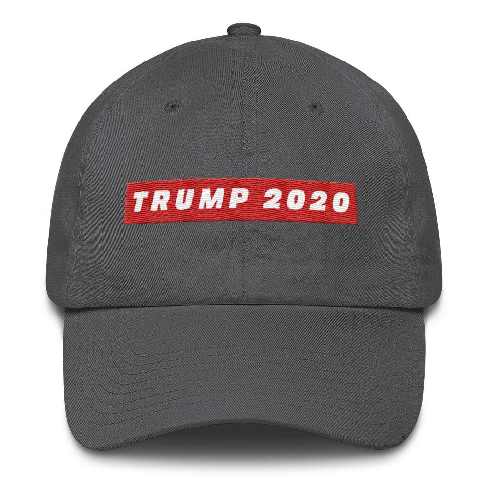TRUMP 2020 *MADE IN THE USA* Hat - Charcoal