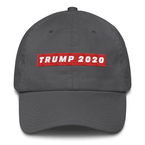 Image of TRUMP 2020 *MADE IN THE USA* Hat - Charcoal