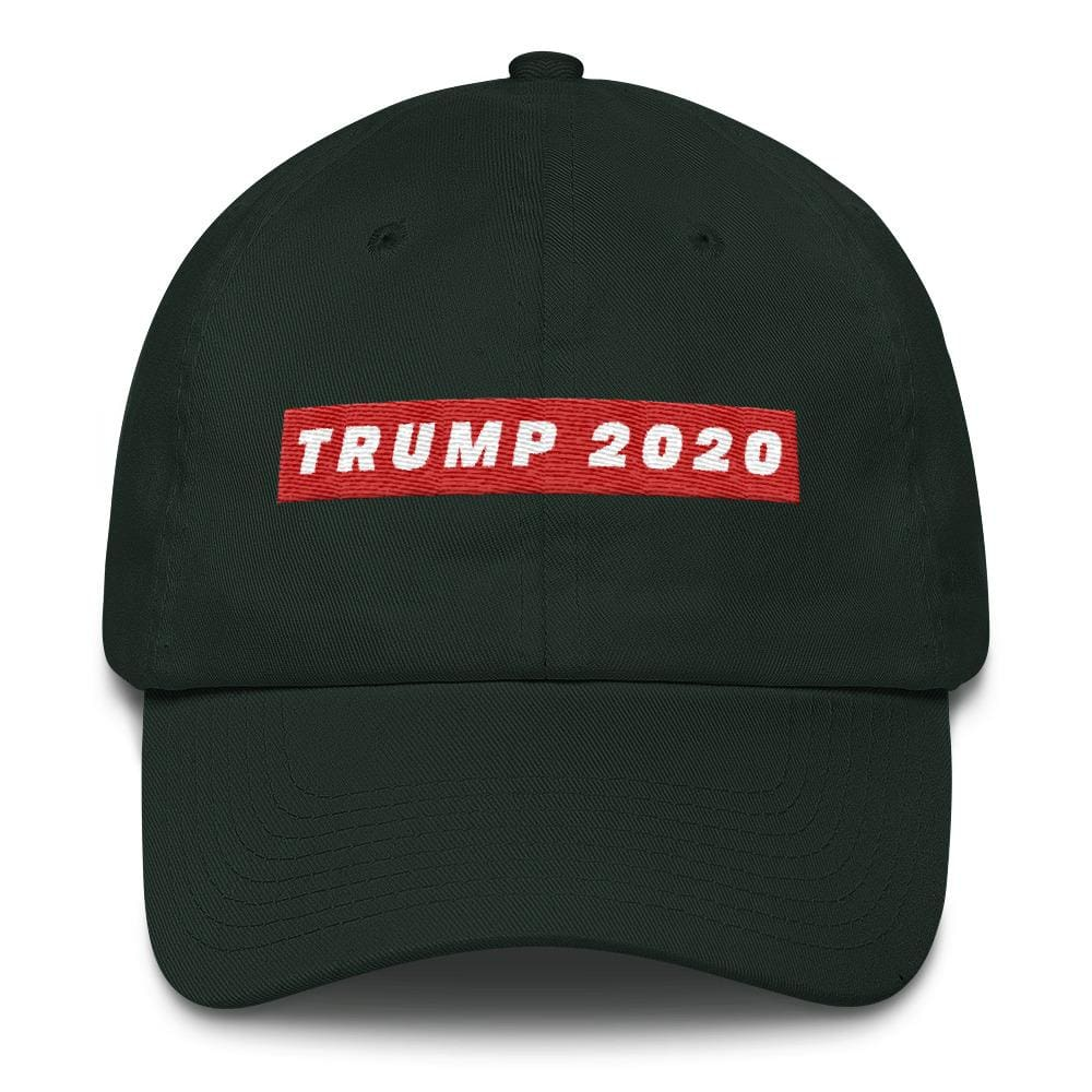 TRUMP 2020 *MADE IN THE USA* Hat - Forest Green