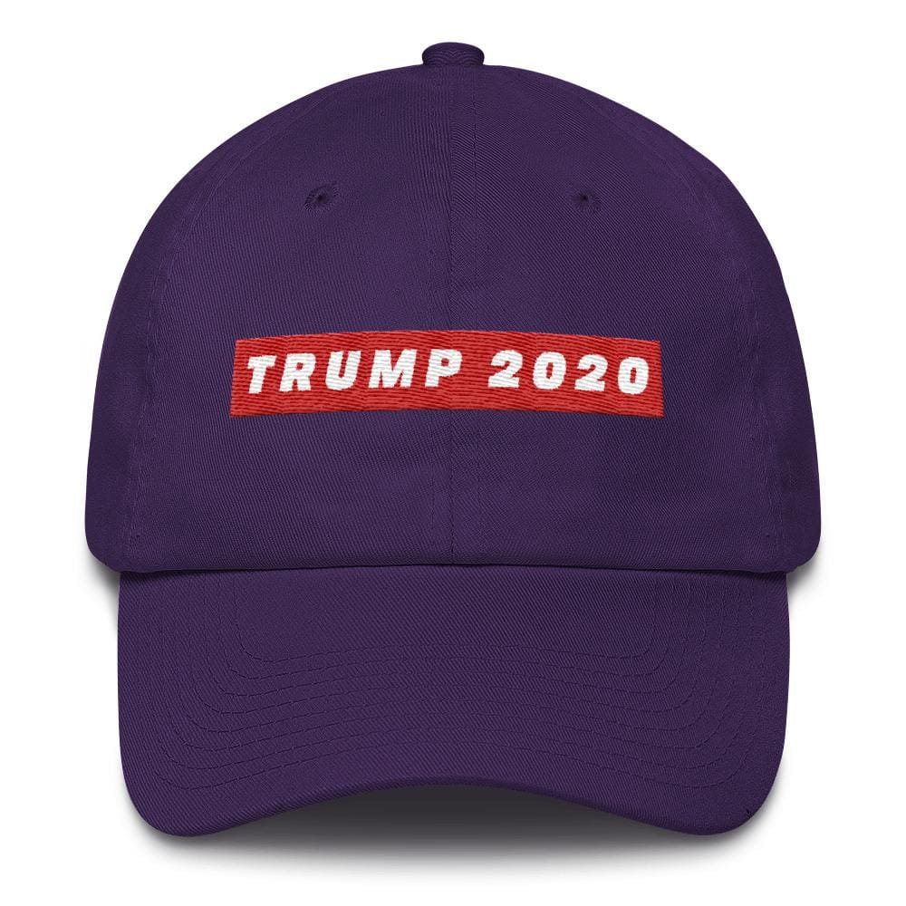TRUMP 2020 *MADE IN THE USA* Hat - Purple