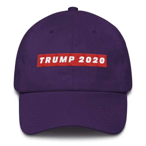 Image of TRUMP 2020 *MADE IN THE USA* Hat - Purple