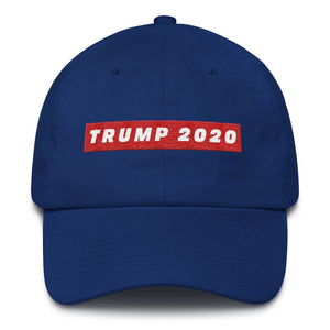 TRUMP 2020 *MADE IN THE USA* Hat - Royal Blue