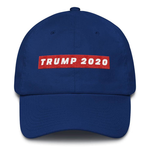 Image of TRUMP 2020 *MADE IN THE USA* Hat - Royal Blue