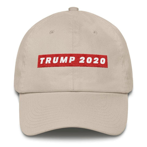 Image of TRUMP 2020 *MADE IN THE USA* Hat - Stone