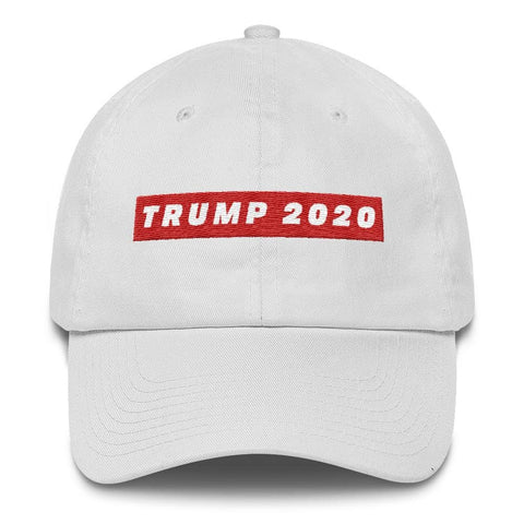 Image of TRUMP 2020 *MADE IN THE USA* Hat - White