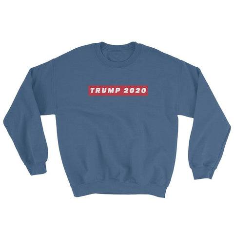 Image of TRUMP 2020 Sweatshirt - Indigo Blue / S