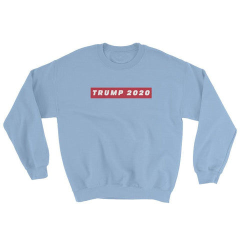 Image of TRUMP 2020 Sweatshirt - Light Blue / S