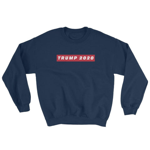 Image of TRUMP 2020 Sweatshirt - Navy / S
