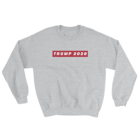 Image of TRUMP 2020 Sweatshirt - Sport Grey / S