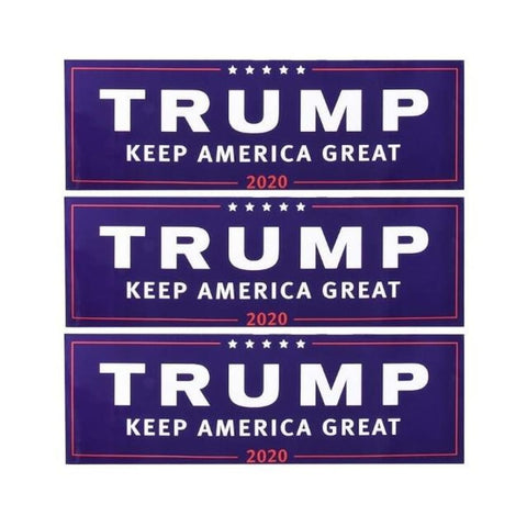 TRUMP KEEP AMERICA GREAT 2020 Stickers (3) FREE! - 3pcs