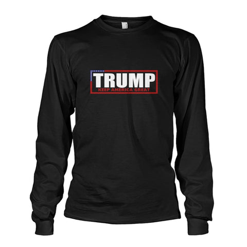 Image of Trump Keep America Great Long Sleeve - Black / S - Long Sleeves