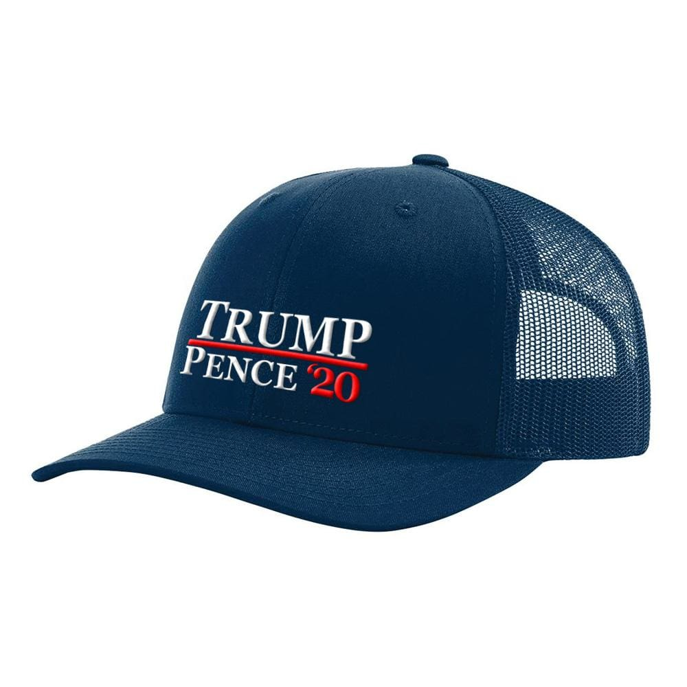 Trump Pence 20 Hat - Navy - Hats