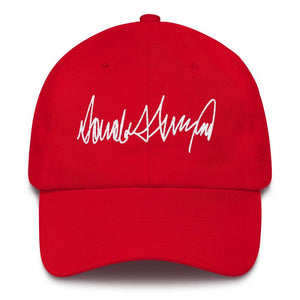 Trump Signature *MADE IN THE USA* Hat - Red