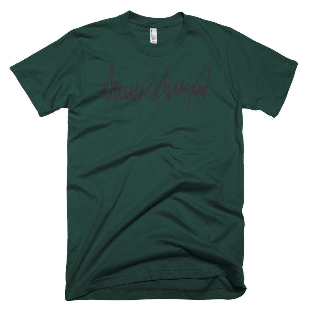 Trump Signature *MADE IN THE USA* Unisex T-shirt - Forest / XS