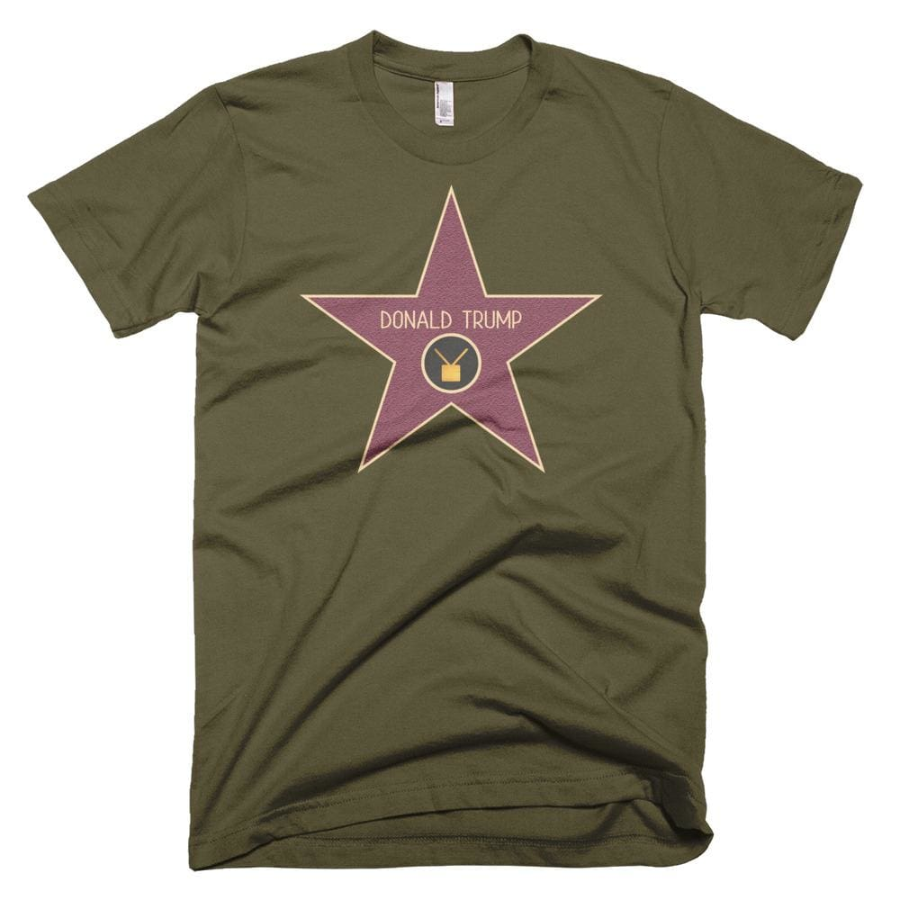 Trump Star *MADE IN THE USA* Unisex T-shirt - Army / XS