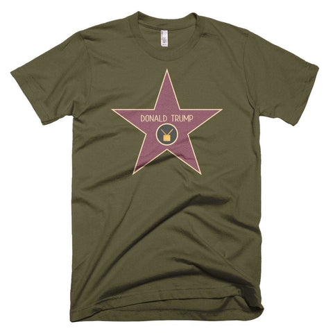 Image of Trump Star *MADE IN THE USA* Unisex T-shirt - Army / XS