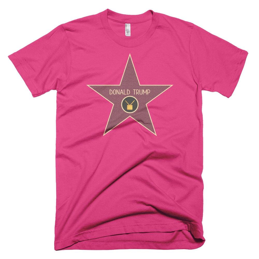 Trump Star *MADE IN THE USA* Unisex T-shirt - Fuchsia / XS