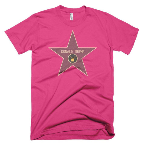 Image of Trump Star *MADE IN THE USA* Unisex T-shirt - Fuchsia / XS