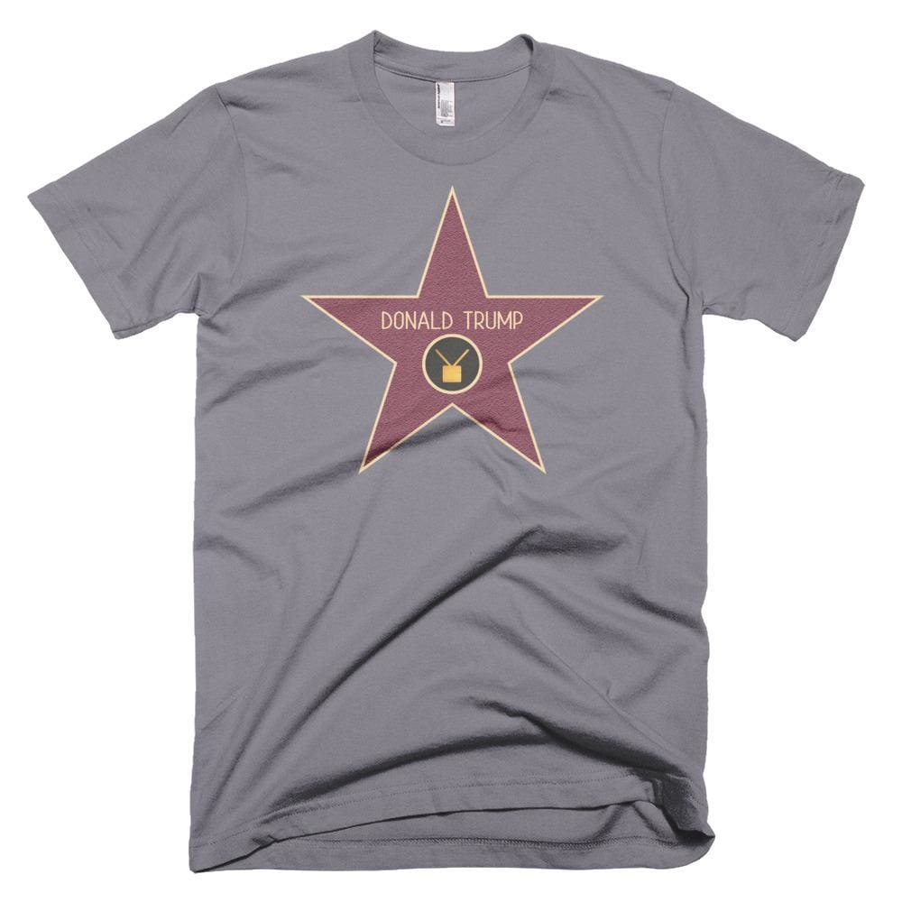 Trump Star *MADE IN THE USA* Unisex T-shirt - Slate / XS