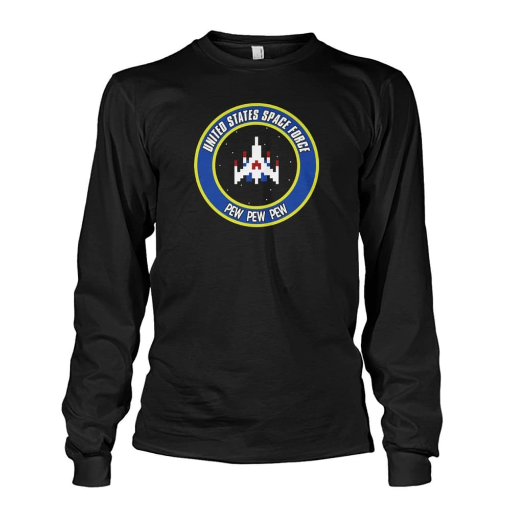 United States Space Force Long Sleeve - Black / S / Unisex Long Sleeve - Long Sleeves