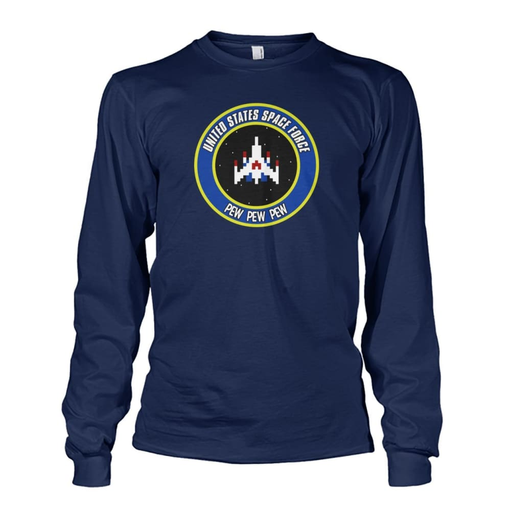 United States Space Force Long Sleeve - Navy / S / Unisex Long Sleeve - Long Sleeves