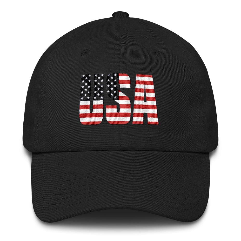 USA *MADE IN THE USA* Hat - Black