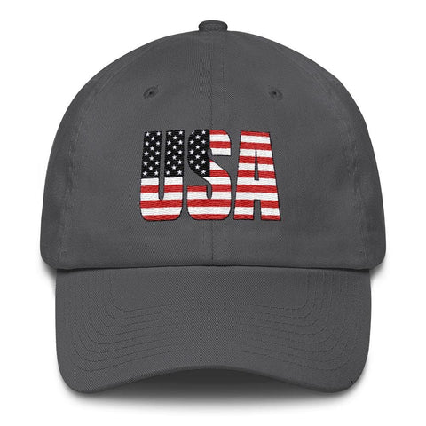 Image of USA *MADE IN THE USA* Hat - Charcoal