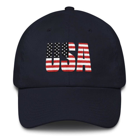 Image of USA *MADE IN THE USA* Hat - Navy