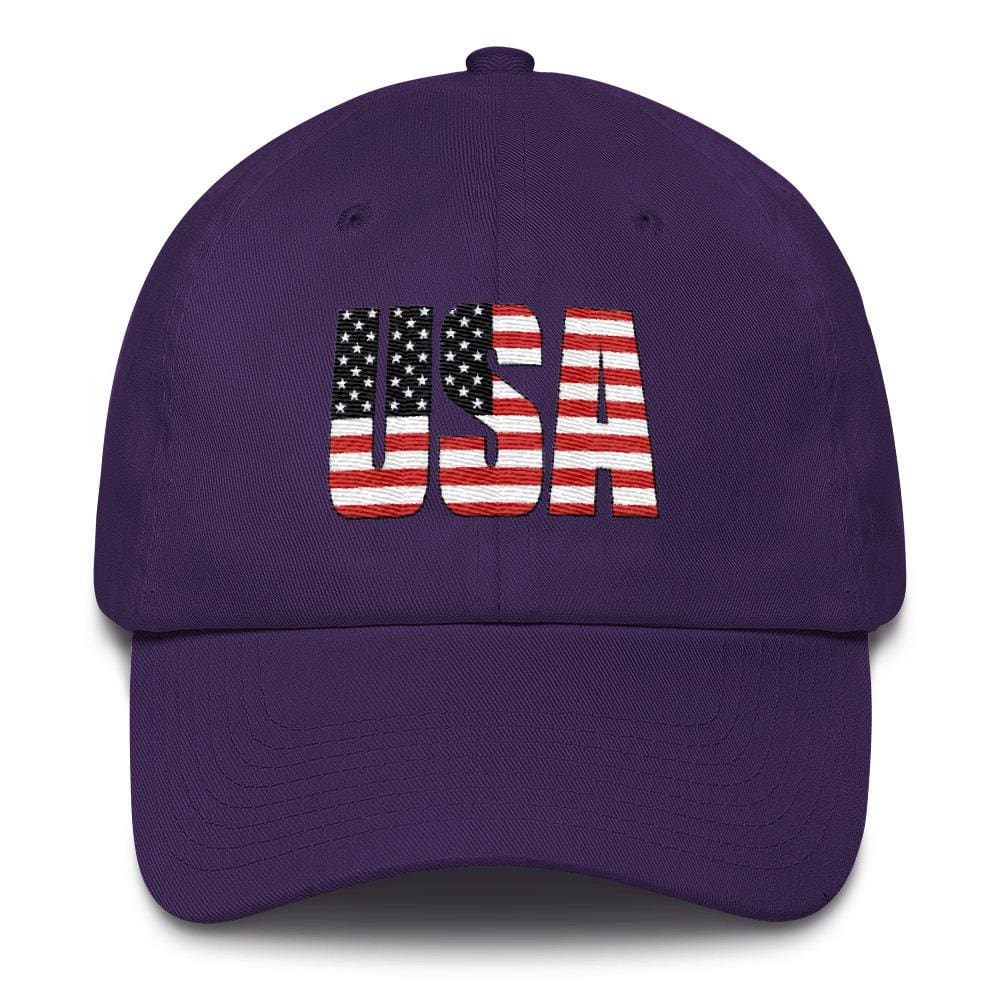 USA *MADE IN THE USA* Hat - Purple