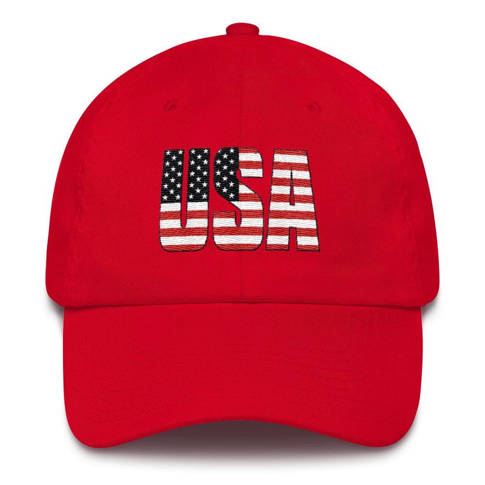 USA *MADE IN THE USA* Hat - Red
