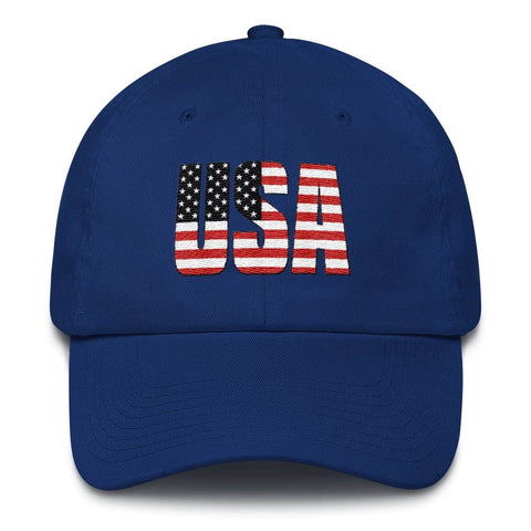 Image of USA *MADE IN THE USA* Hat - Royal Blue
