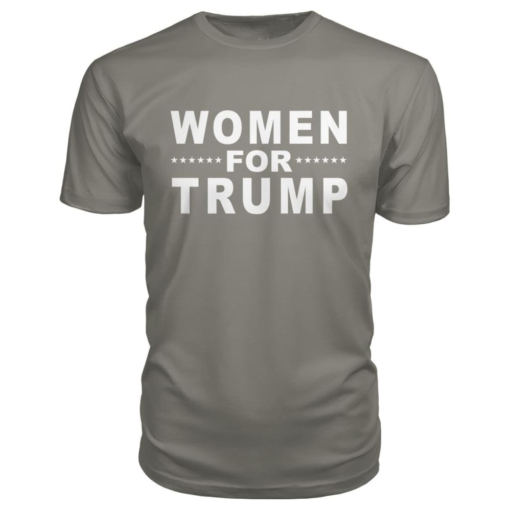 Women For Trump Premium Tee - Charcoal / S - Short Sleeves