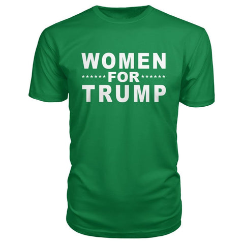 Women For Trump Premium Tee - Kelly Green / S - Short Sleeves