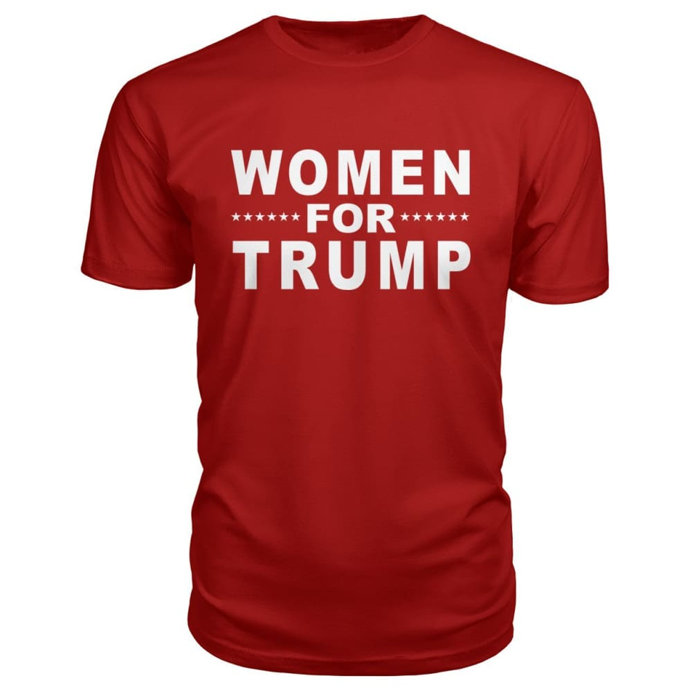 Women For Trump Premium Tee - Red / S - Short Sleeves