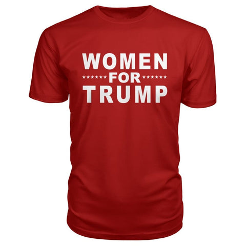 Image of Women For Trump Premium Tee - Red / S - Short Sleeves