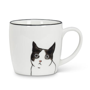 Tasse Chat vue de face