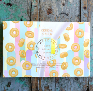 Alicja Confections Cereal and Milk Chocolate Bar