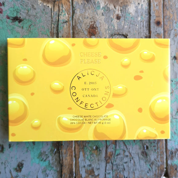 Alicja Confections Cheese Please Chocolate Bar