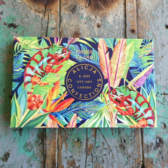 Alicja Confections Ember Island Chocolate Bar