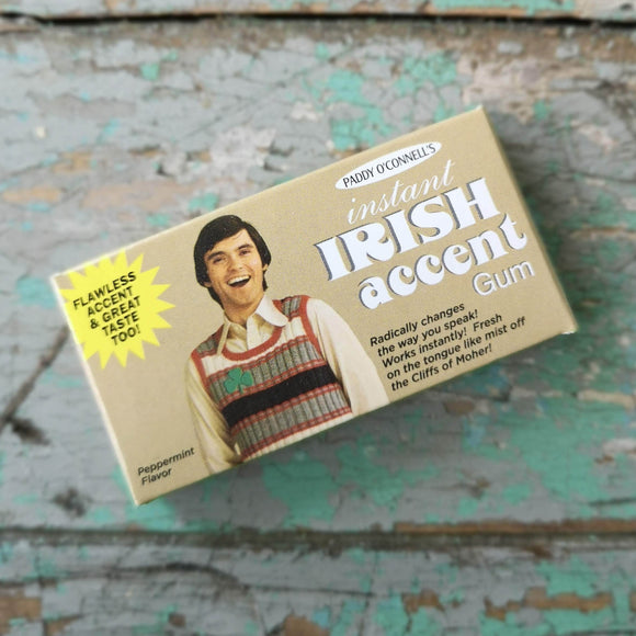 Blue Q Gomme Irish Accent