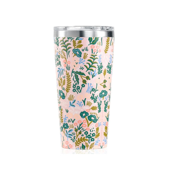 Corkcicle Tumbler Tasse Isolée Gloss Pink Tapestry